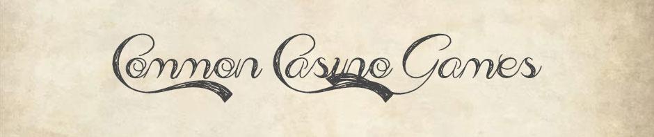2018 casino games